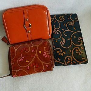 Adrienne Vittadini wallet plus 2 more